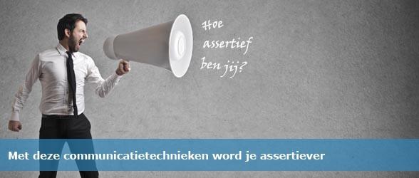 Communicatietechnieken assertiviteit