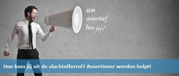 Kom uit je slachtofferrol en word assertief