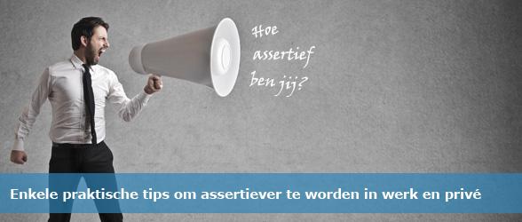 Tips assertiever worden